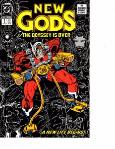 Lot Of 2 DC Comic Books New Gods #1 and Starman #1 Batman Superman   ON6