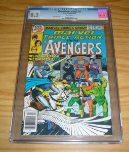 Marvel Triple Action #47 CGC 8.5 reprints avengers 54 1st ultron - steve ditko