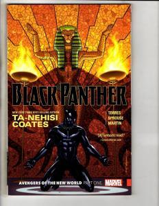 Black Panther Vol. # 4 Avengers New World Marvel Comics Graphic Novel TPB J302