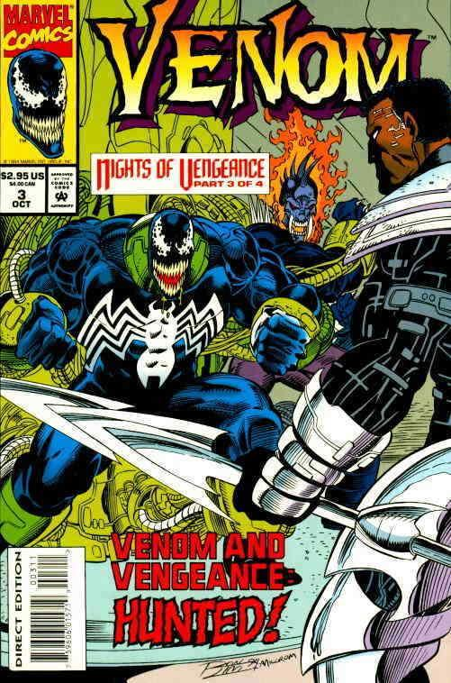 Venom: Nights of Vengeance #3 VF/NM; Marvel | save on shipping - details inside