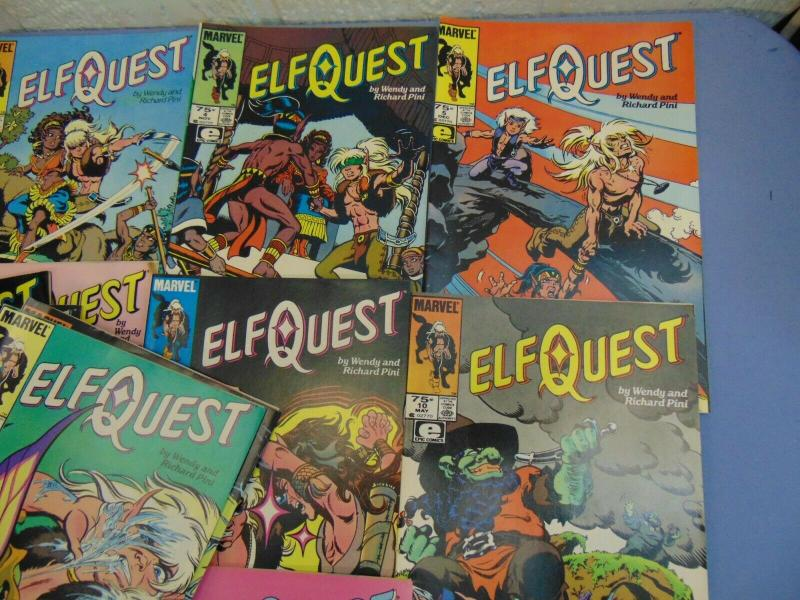 Elfquest Elf Quest Marvel Wendy Richard Pini Comic Books Issues #1 to #32 Epic