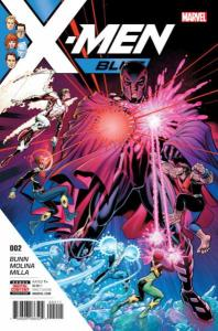 X-Men: Blue #2, NM (Stock photo)