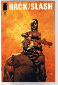 HACK / SLASH #1 B, NM-, Tim Seeley, Serial Killer,  2011, Image,more HS in store