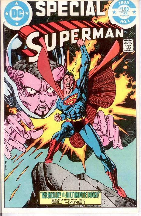 SUPERMAN SPECIAL  1 VF-NM   1983 COMICS BOOK