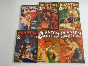 Phantom Detective TPB lot 6 different SC 6.0 FN