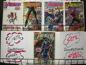AVENGERS 314-318 classic Spiderman storyline