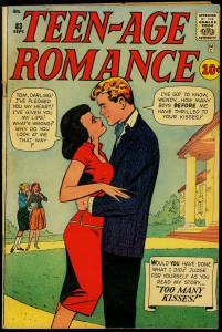Teen-Age Romance #83 1961- Don Heck Art- Marvel Romance Silver Age VG