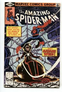 AMAZING SPIDER-MAN #210 comic book-1980 MARVEL 1st Madame Web