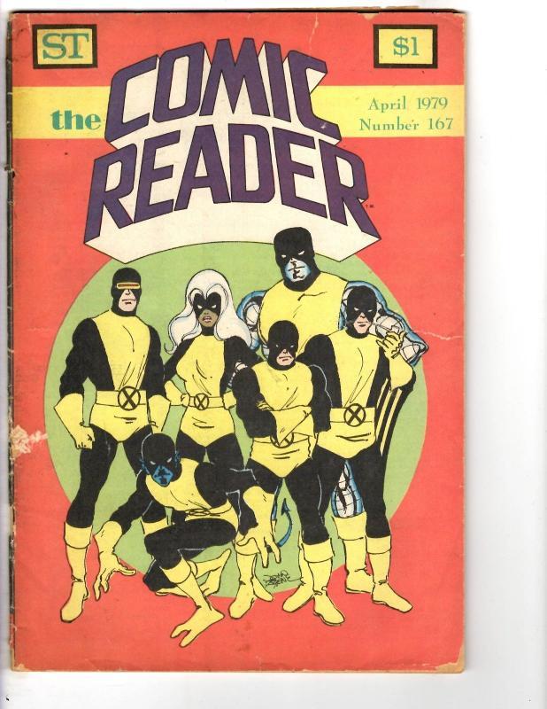 2 Comic Books Street The Comic Reader #167 Eclipse Comics