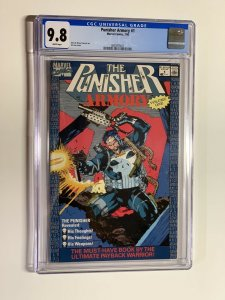 punisher armory 1 cgc 9.8 jim lee cover art