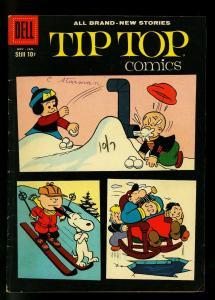 Tip Top Comics #215 1959- Peanuts cover & story- VG
