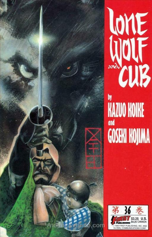 Lone Wolf and Cub #36 VF/NM; First   save on shipping - details inside