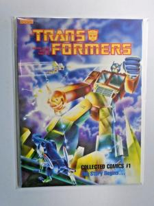 Transformers Collected Comics #1 NM (1985)