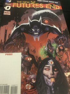 DC Futures End #0 The New 52 Mint