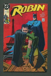 Robin #1 (Mini-Series) / 9.4 NM  / January 1991