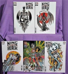 Venom KING IN BLACK #1 - 5 Ian Bederman Tattoo Variant Covers (Marvel, 2020)!