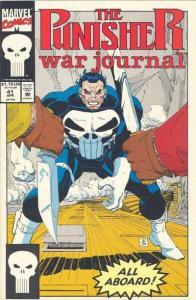 Punisher War Journal (1988 series) #41, NM (Stock photo)