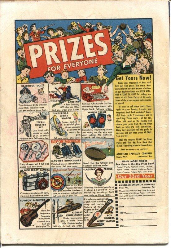 CRIME CASES #8-1951-ATLAS-PRE CODE-MURDER-ROBBERY-LIQUOR-GUNFIGHTS-VIOLENCE-