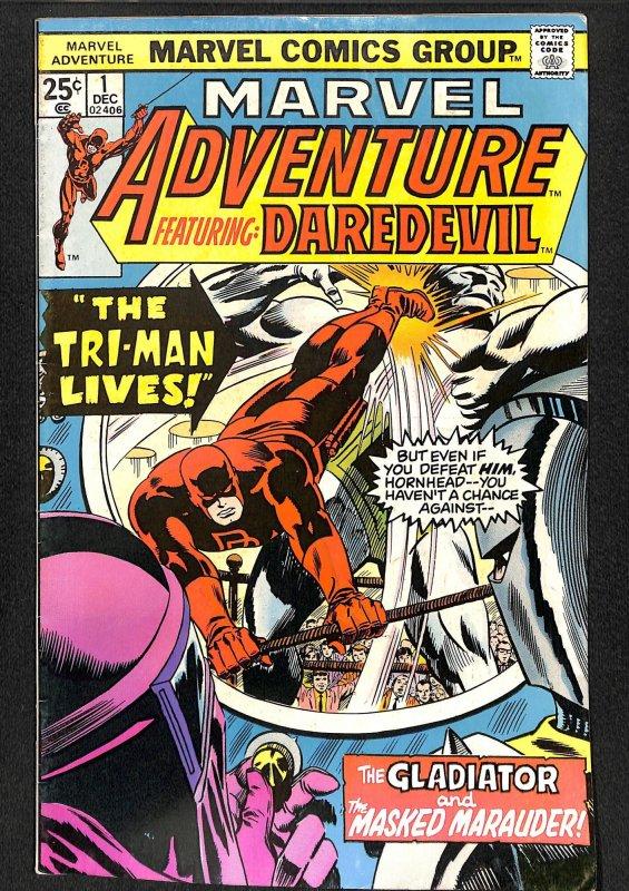 Marvel Adventures starring Daredevil #1