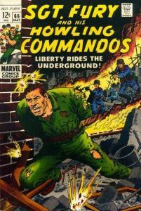 Sgt. Fury #66, Fine- (Stock photo)