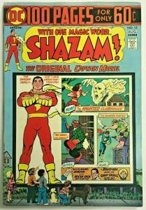 SHAZAM#13 VF 1974 GIANT 100 PAGES DC BRONZE AGE COMICS