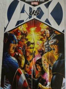 AVENGERS vs X-MEN Promo Poster, 24 x 36, 2012, MARVEL, Unused 263