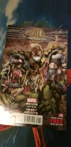 Avengers Age Of Ultron Comic #1