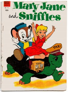MARY JANE and SNIFFLES (June1953) Four Color #474  5.0 VG/FN  Al Hubbard Artwork