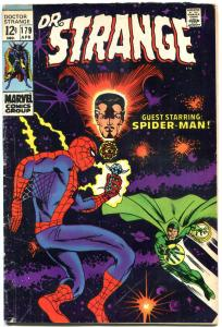 DOCTOR STRANGE #179, VG+, Mystic Arts, Spider-Man, 1968, more DS in store, QXT