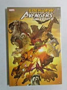 Lockjaw and the Pet Avengers Unleashed #1 Hardcover new in cellophane (2010)