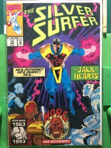Silver Surfer #78 guest starring The Jack of Hearts