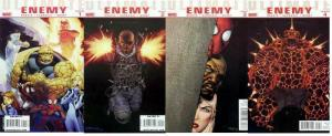 ULTIMATE ENEMY (2010) 1-4  the COMPLETE series!