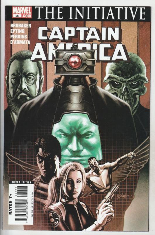 Captain America #26 (May-07) NM/MT Super-High-Grade Captain America