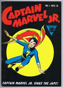 Flashback #17 VINTAGE 1974 Dynapubs Reprints Captain Marvel Jr #1