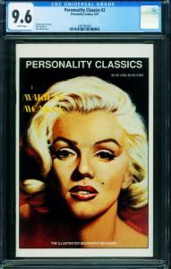 Personality Classics #2 CGC 9.6 1991 - Marilyn Monroe 1997006002