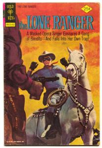 The Lone Ranger #19 1974- Gold Key comic VG+
