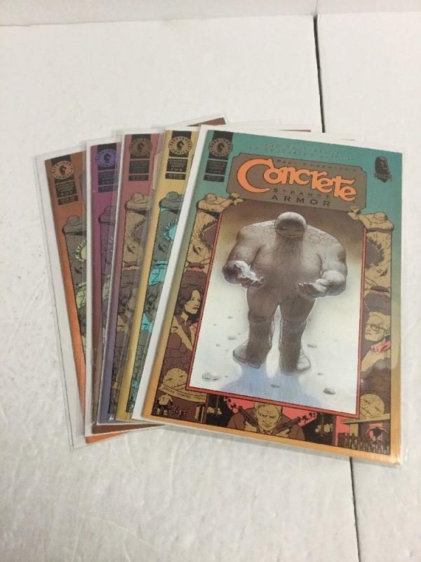 Concrete Strange Armor 1-5 Lot Set Run Nm Near Mint Dark Horse IK