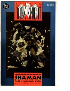 Lot Of 6 Batman Legends Of The Dark Knight DC Comic Books # 5 6 7 8 11 13 J271