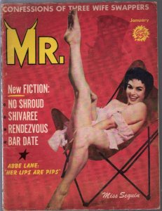 Mr. 1/1958-cheesecake-pin-up pix-Abbe Lane-Dope in Tangier-VG