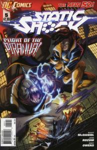 Static Shock #5 VF/NM; DC | save on shipping - details inside