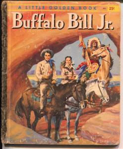 Buffalo Bill Jr. #954 1959-Little Golden Book-Dick West TV show-FR