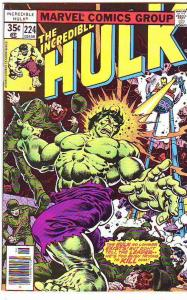 Incredible Hulk #224 (Jun-78) NM- High-Grade Hulk
