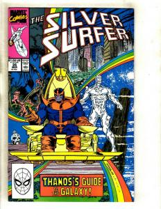 Silver Surfer #35 VF/NM Marvel Comic Book Thanos Avengers Hulk Thor Iron Man GK3