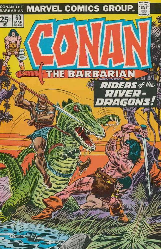 Conan the Barbarian #60 VF/NM; Marvel | save on shipping - details inside
