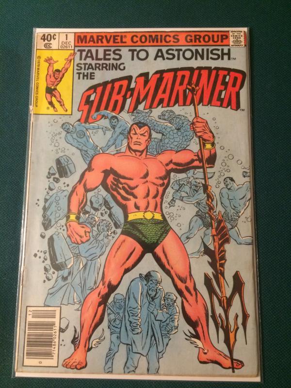 Tales to Astonish #1 vol 2 starring The Sub-Mariner