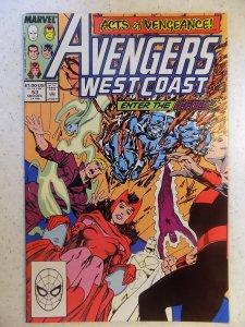 Avengers West Coast #53 (1989)