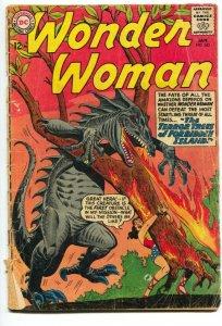 WONDER WOMAN #143 1964-DC COMICS-MONSTER COVER- G-