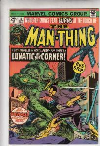Man-Thing #21 (Oct-75) VF/NM High-Grade Man-Thing
