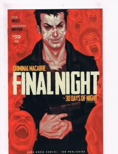 Criminal Macabre Final Night # 3 Of 4 VF 1st Print Dark Horse IDW Comic Book S63