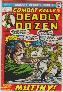 Combat Kelly and the Deadly Dozen #4 (1972)
